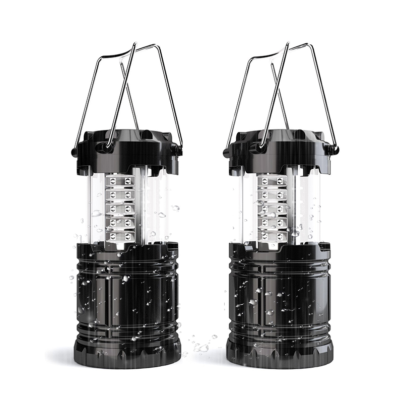 30 LED Portable Camping Lantern Rechargeable Hanging Tent Torch Light Foldable Flashlight For Outdoor Hiking Fishing Emergency