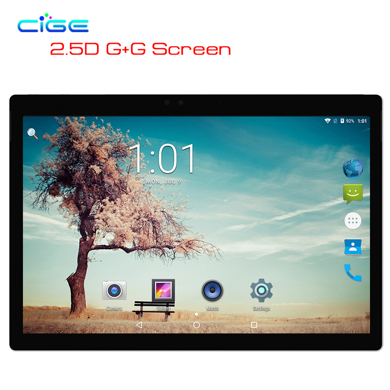 CIGE 2018 Newest Free Ship 10.1 inch Tablet PC 4G Octa Core 4GB RAM 32GB 64GB ROM 1280*800 IPS GPS Android 7.0 Tablet 10.1 free shipping 10 1 inch tablet pc android 7 0 octa core 4gb ram 64gb rom 5 0mp bluetooth wifi gps ips 1280 800 tablet 10 1