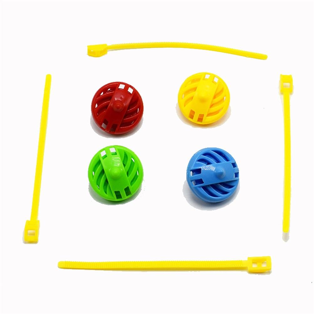 1 Stücke Kinder Junge Mädchen Kid 3d Neuheit Geschenk Gyroskop Magie 3d Gyro Spielzeug Kreisel Zugstange Wohltuend FüR Das Sperma