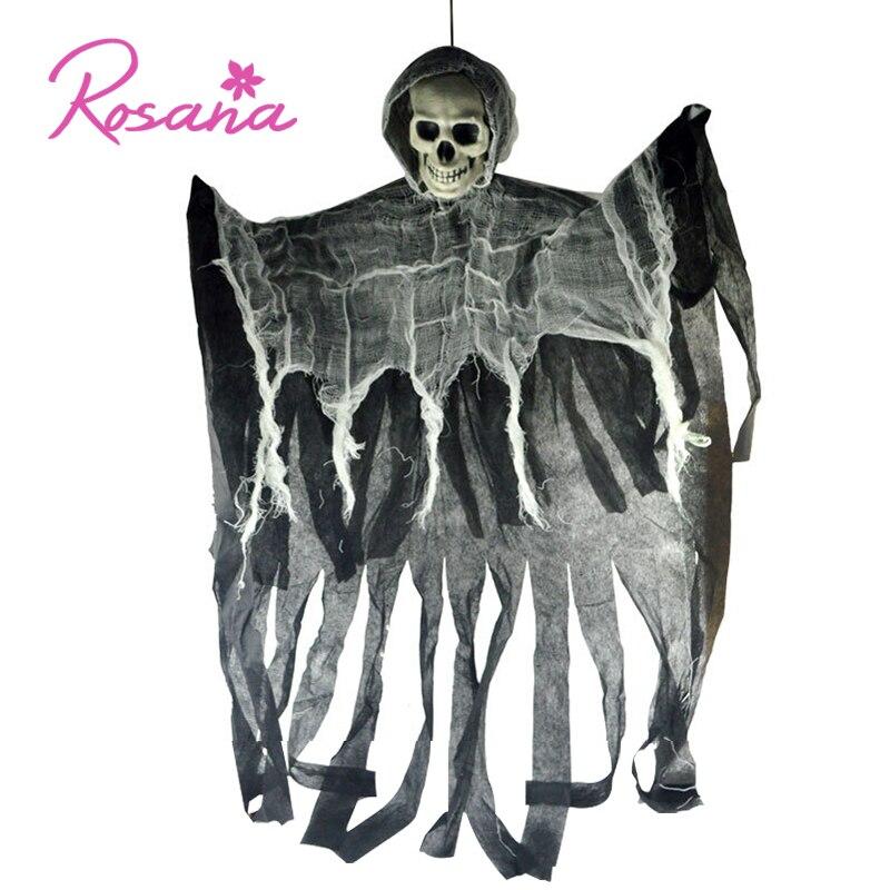 100cm 60cm Halloween Decorations Hanging Skull Ghost Haunted