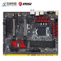 MSI Z170A GAMING PRO рабочего Материнская плата Z170 LGA 1151 i3 i5 i7 14nm DDR4 64 г M.2 SATA3 USB3.0 DVI HDMI ATX