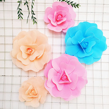 Artificial Flower Foam Rose Wall Hanging Wedding Chair Decoration Flower Bedroom Living Room Background Wall Decoration european swan wall decoration wall decorative wall decoration creative wall hanging vase flower basket living room background wa