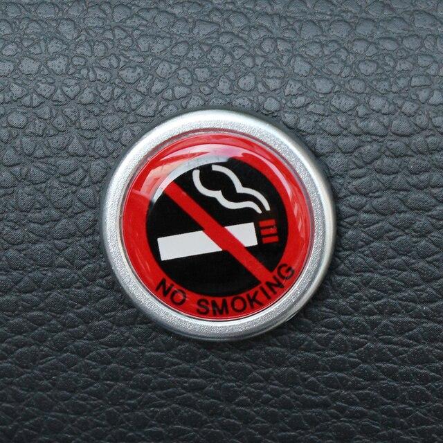 Car Sticker No Smoking Warning Logo For Mini Cooper S R50 R53 R56