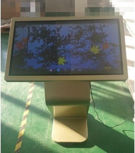 Support de sol intelligent HD 42/47/55 pouces wifi LED lcd publicité écran partagé lecteur vidéo affichages de signalisation numérique - 6