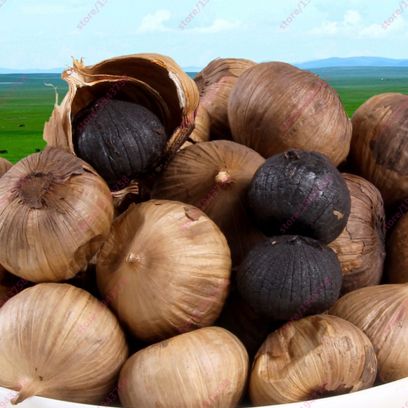 250g-chinese-high-quality-and-organic-black-garlic-black-garlic-seeds-fermenter-for-anti-cancer-and