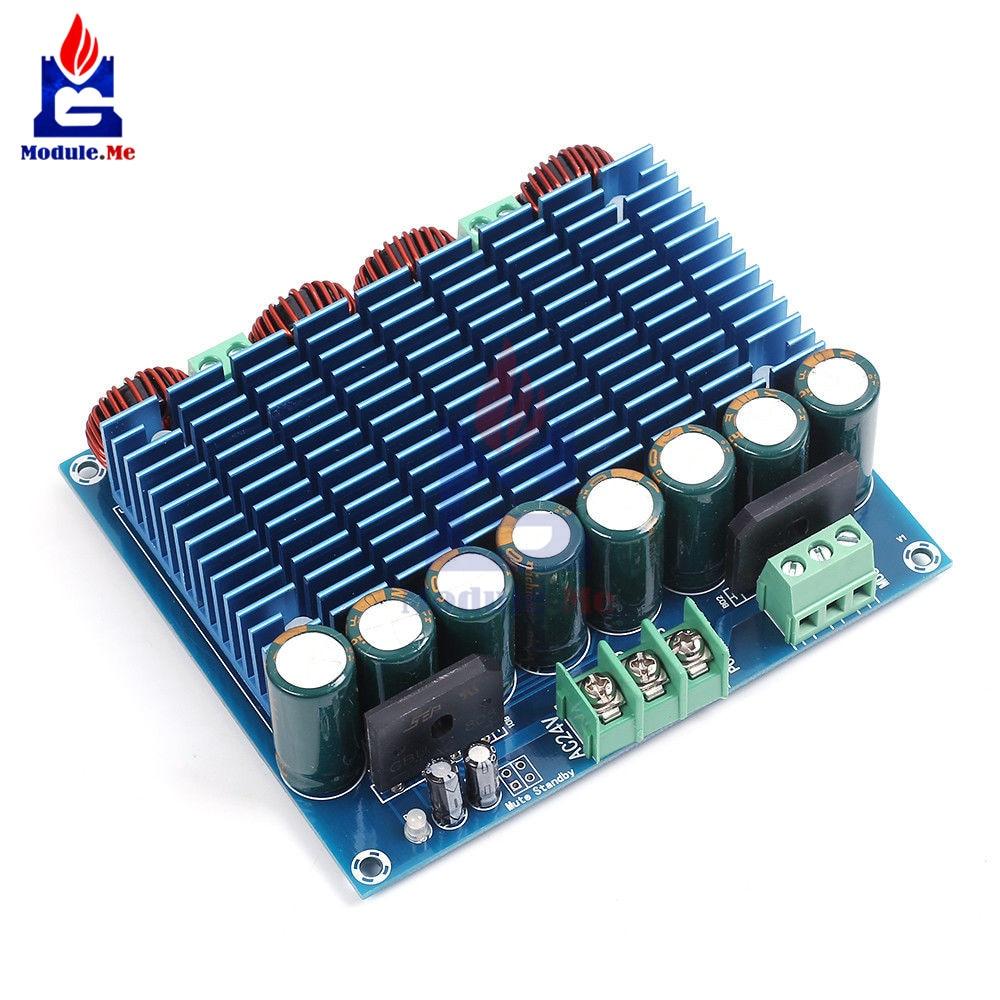 Xh M252 Ac 24v 2x420w Stereo Tda8954th Dual Chip Class D Digital Figure 1 Schematic For A Btl Classd Power Amplifier Audio Hifi