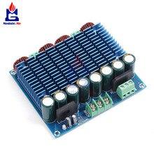 XH M252 التيار المتناوب 24 فولت 2x420 واط ستيريو TDA8954TH المزدوج رقاقة فئة D الصوت الرقمي HIFI مكبر للصوت لوحة تركيبية فائقة عالية الطاقة وضع BTL
