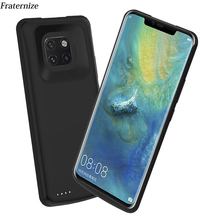 For Huawei Mate 20 Pro Battery Charger Case Mate 20 Slim shockproof Silicone soft Frame External power bank Cases Charging Cover