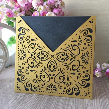 30Pcs/Lot Multiple Colors Are Available Invitation Card Wedding Decorations Greeting Card Event&Party Supplies