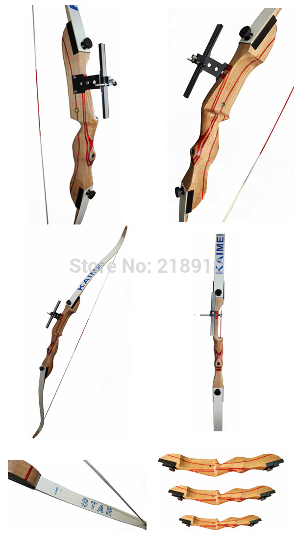 ФОТО kids  wooden recurve archery bows sets