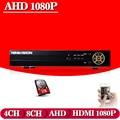NINIVISION 8CH AHD DVR AHD-NH HD 1080P Video Recorder H.264 CCTV Camera Onvif Network 8 Channel 1080P NVR IP Camera with 1TB HDD