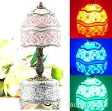Luminous egg music box birthday gift Christmas Wedding gift lamp the Qixi Festival girlfriend boyfriend classmates