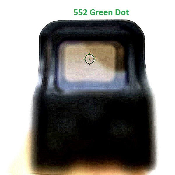 551_0 Holographic Sight Red Dot Optic Sight Reflex Sight For Shot with 20mm Rail Mounts for Airsoft(552_0,553_0)