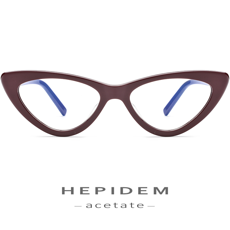 Acetate Optical Glasses Frame Women Brand Designer Cat Eye Prescription Eyeglasses 2019 New Fors Ladies Cateye Spectacle Eyewear