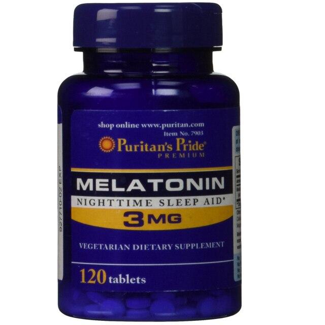 Мелатонин 3 mg-120 Таблетки сна бесплатно shippping