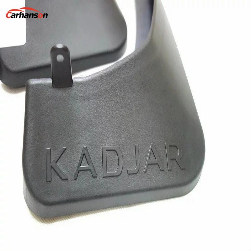 Για την Renault Kadjar Προφυλακτήρες λάσπης Φίλτρα λάσπης Προφυλακτήρες για αυτοκίνητο Styling για αυτοκίνητα Renault Kadjar Φυσαρμόνικα Accesorios Renault Kadjar 2016 4τμχ