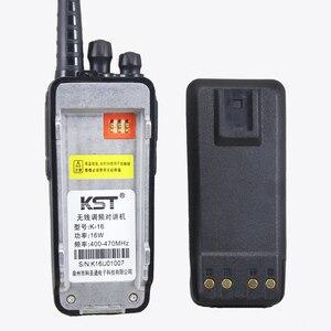 Image 2 - Walkie Talkie KST K16 10KM, 16W, Radio bidireccional, portátil, transceptor FM de largo alcance con batería de 4000Mah