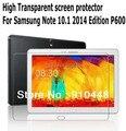 Бесплатная доставка 2 Шт. Высокое прозрачно Clear Lcd-экран Протектор для Samsung Galaxy Note 10.1 2014 Издание P600 P601 T520