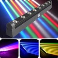 2015 HOT LED Bar Beam Moving Head stage Light RGBW 8x12W Perfect for Mobile DJ, Party, nightclub wled rotating beam light