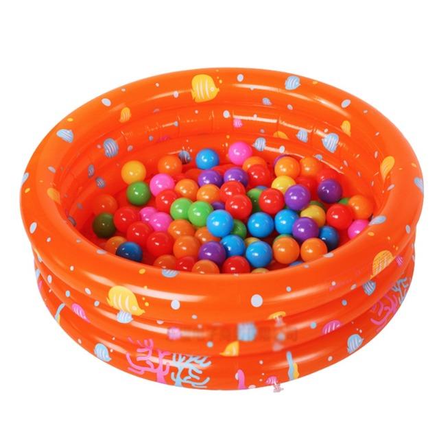 Nueva Llegada 130*38 cm Del Cabrito Del Bebé Ronda Piscina Niños Piscinas Piscina Inflable de Juguete De Plástico 4 Colores envío Gratis