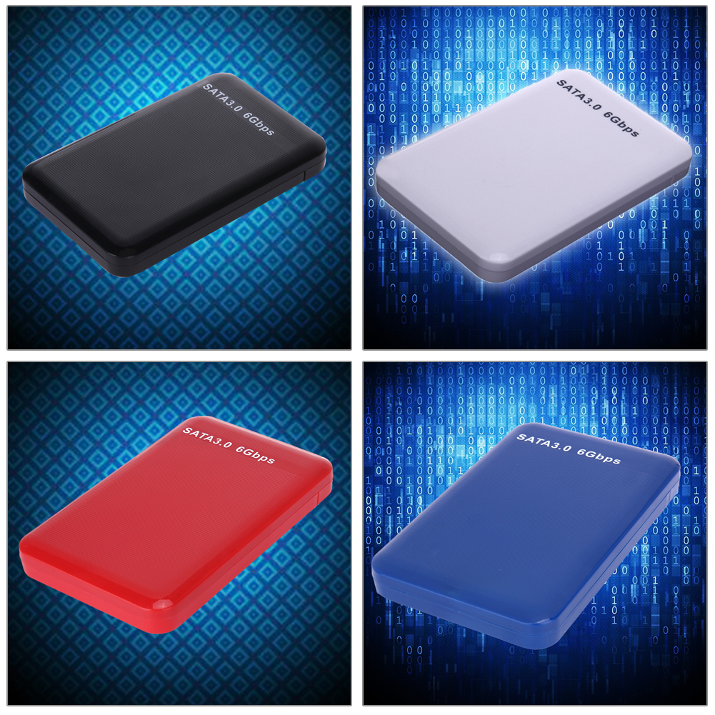 High Speed 25 Inch Sata Hard Drive Hd Enclosure Usb 30 Iii Hdd Portable Case Gift Box Easy Install In From Computer Disk External Samsung F2 New Transmission Compatible With 20 And 11 It Can Connect Storage Device Or Ssd Port