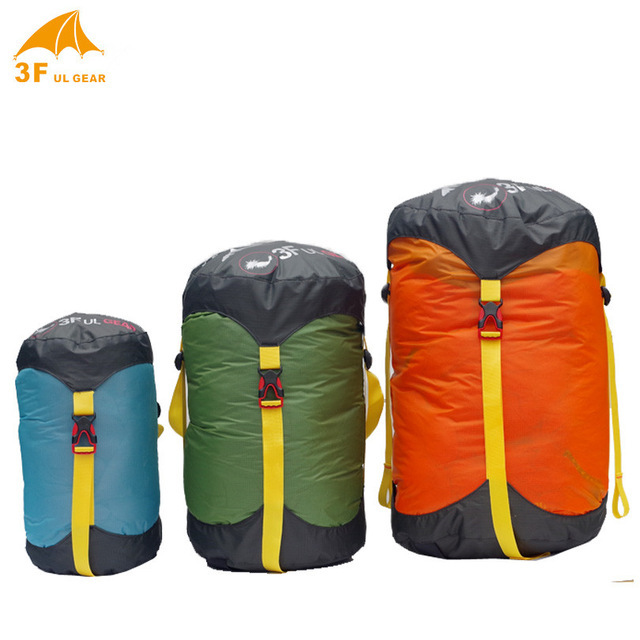 New 3f Ul Gear Lightweight Outdoor Sleeping Bag Pack Compression Waterproof Stuff Sack Storage Carry