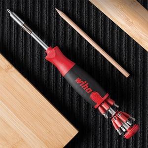 Image 3 - Original xiaomi Mijia Wiha daily screwdriver set 26 in 1 precision drill bit with hidden magic box set repair parts