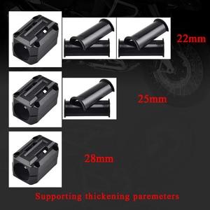 Image 3 - 22/25/28mm Engine Protection Guard Bumper Decor Block For Yamaha XT1200Z Super Tenere XT 1200Z