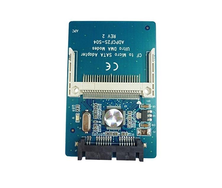 CF card to 1.8 Micro SATA HDD converter card serial ATA