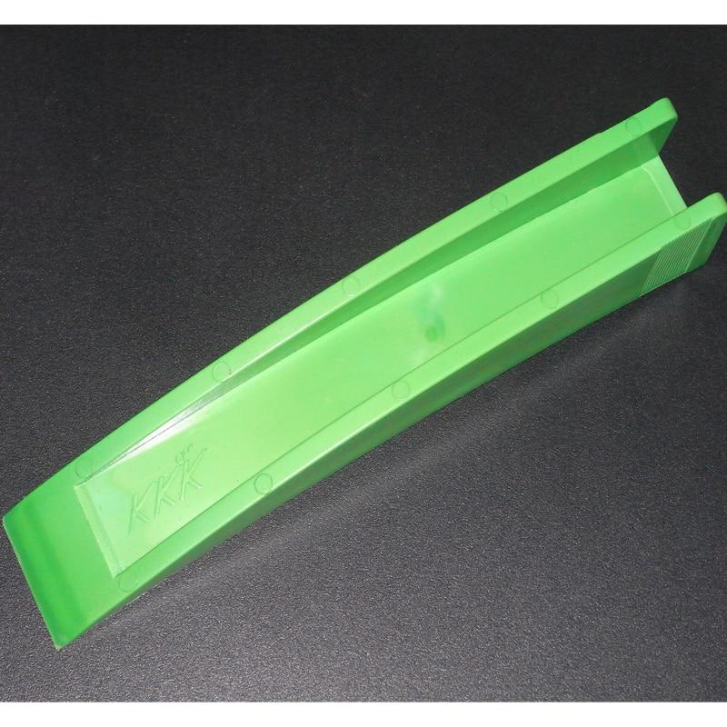 Green Durable Nylon Car Curved Wedge Crowbar Gradient Door Stop wedge windows Crowbar tools car Tools