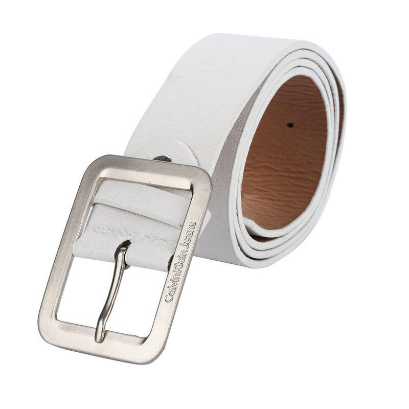 Apparel Accessories Belts New Fashion Casual Men Belts Faux Pu Leather Luxury Fashion Punch Male Belt Buckle Waist Strap Men Belt