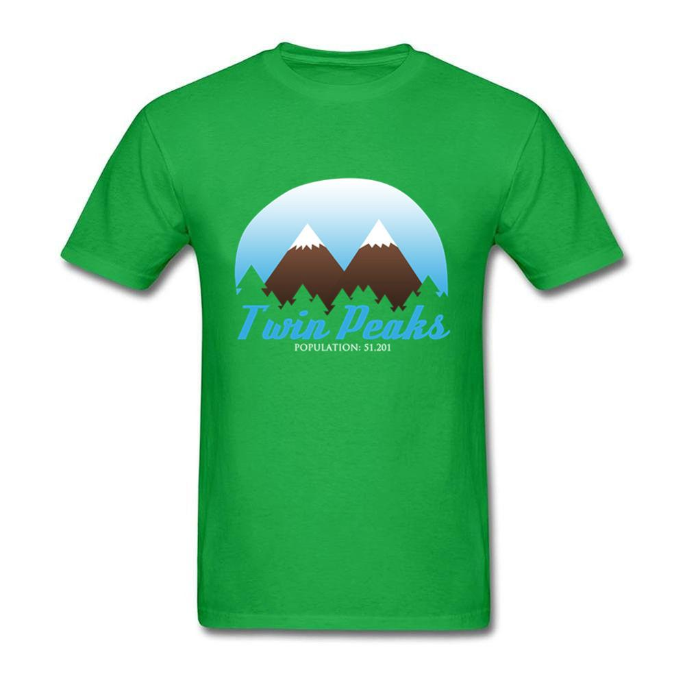 Twin Peaks New Arrival T-shirt Fashion Design T Shirt Mens High Quality White T-shirt Male Custom Printed Tops Tees Cheaper
