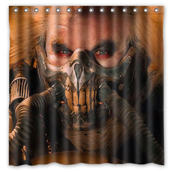 Aliexpress.com : Buy Polyester Shower Curtain Mad Max Fury Road ...