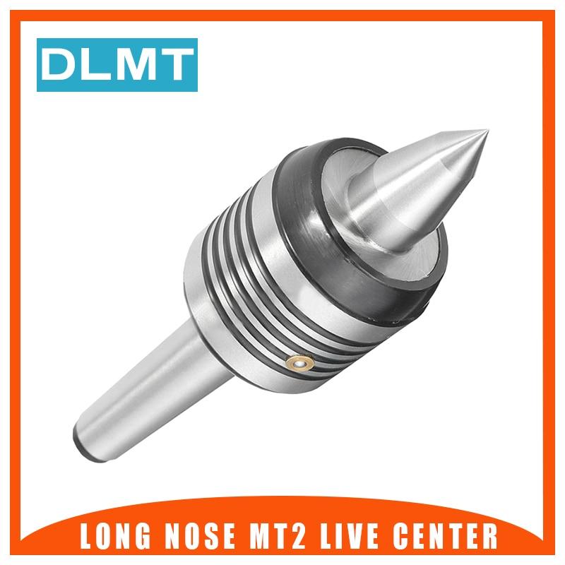 1PCS Long Nose MT2 Live Center Precision 55-60HRC/45-50HRC 0.0002