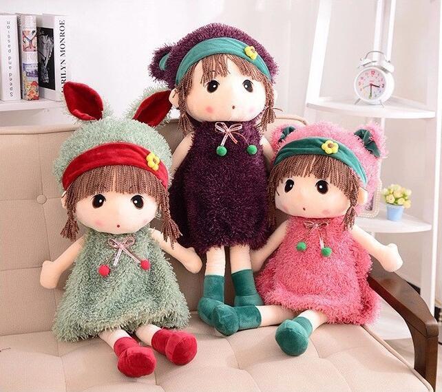 nya 45cm4 färger fyllda docka Mayfair plysch leksaker vackra dockor - Dockor och tillbehör - Foto 1
