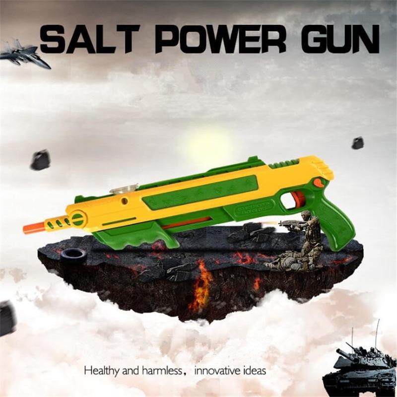 Salt Fly Gun Pepper Bullets Blaster Airsoft For Bug Blow Gun Mosquito Model Toy Salt Gun