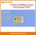 Livre o Navio Temperatura-compensação de Alta precisão Cristal Oscilador TCXO TCXO 24.576 MHz ppm chapeamento de ouro
