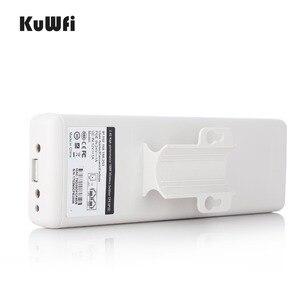 Image 5 - KuWFi 2KM Wireless חיצוני CPE WIFI נתב 5.8G 900 נקודת הגישה 300mbps AP נתב 1000mW WIFI גשר WIFI מהדר WIFI Extender