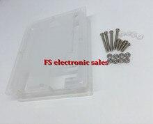 Uno Case Enclosure Transparent Acrylic Box Clear Cover Compatible with Arduino UNO R3