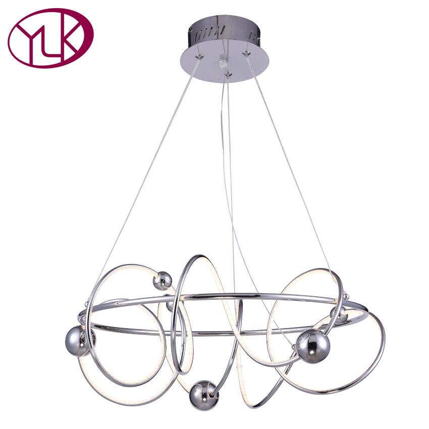New Modern LED Chandelier For Living Room Creative Design Dining Room Hanging Light Chandeliers Chrome LED Indoor Lighting автоинструменты new design autocom cdp 2014 2 3in1 led ds150