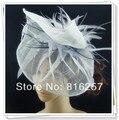 Бесплатная доставка нескольких цветов высокого качества fascinators/хороший свадебные аксессуары/sinamay чародей шляпы/событие головные уборы FS113