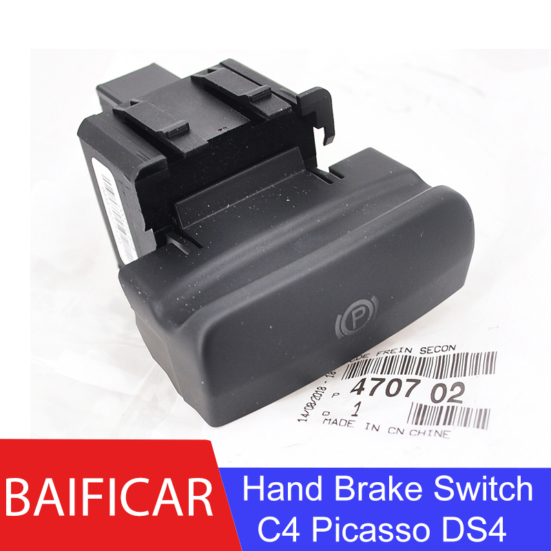 Baificar Brand New Genuine Switch Parking Brake Electronic Handbrake Hand Brake Switch 470702 For Citroen C4