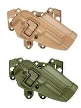 100% Подлинная Военная Армия для M9 Beretta M92 96 CQC Тактический Охота RH Кобура Fit Грудь Талия Ног Весло Молл