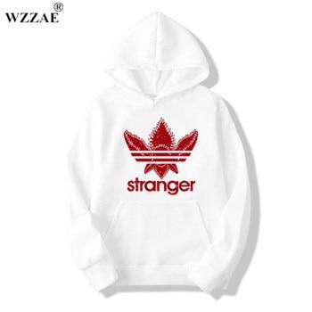 2018 Brand New Fashion Stranger Things Cap Clothing Hooded Sweatshirt hoodies Men/Women Hip Hop Hoodies Plus Size Streetwear 1