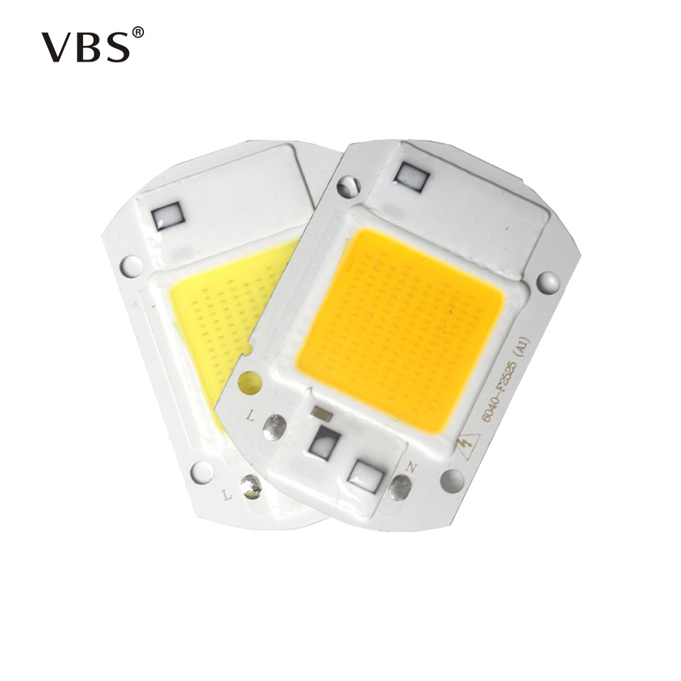 LED COB Chip 20W 30W 50W Led Flood Light Outdoor Spotlight Cold Warm White Bulb Lamp For DIY LED Floodlight Spotlight