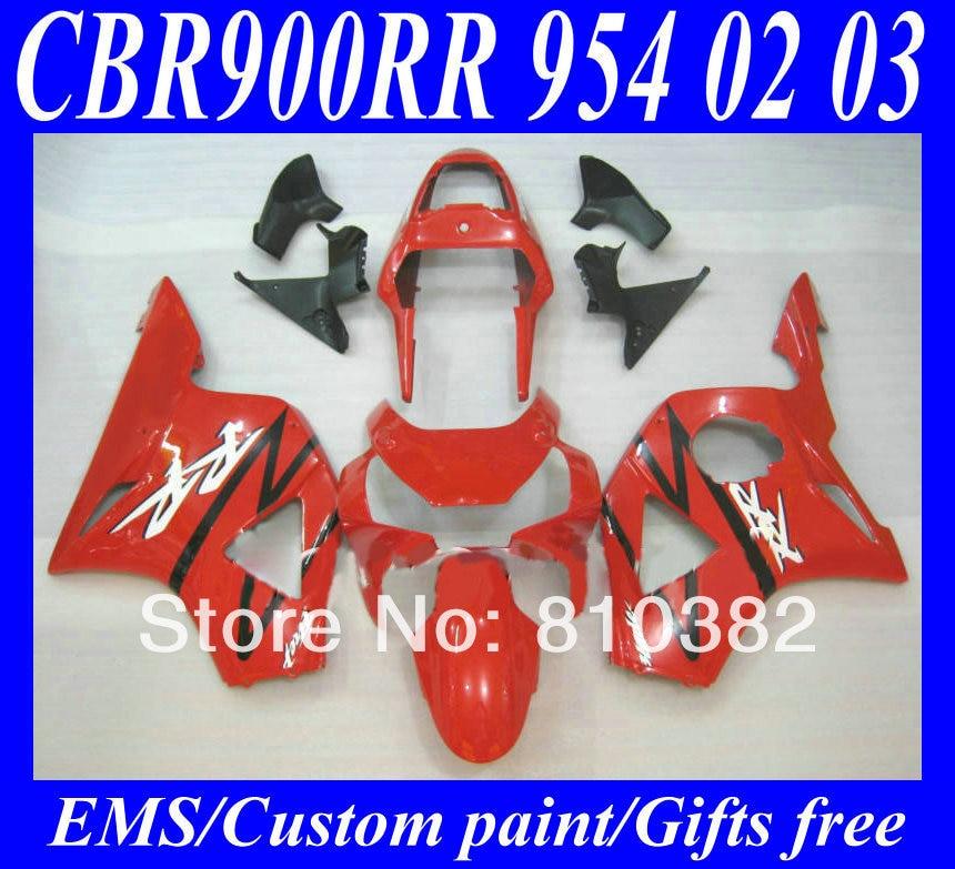 100% brand new motorcycle fairing kit for honda cbr900rr 02 03 cbr900 954 cbr900rr 2002 2003 classica