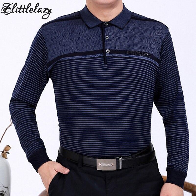 2018 marca polo men camisa de manga longa de fitness masculino ocasional listrado  camisas polos mens poloshirt camisa roupas 96676 9dd80a4178075