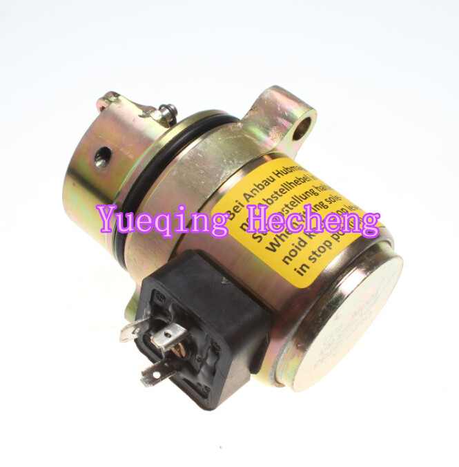 Loader 863/873 BF4M1011F Fuel Shut Off Solenoid 04272733Loader 863/873 BF4M1011F Fuel Shut Off Solenoid 04272733