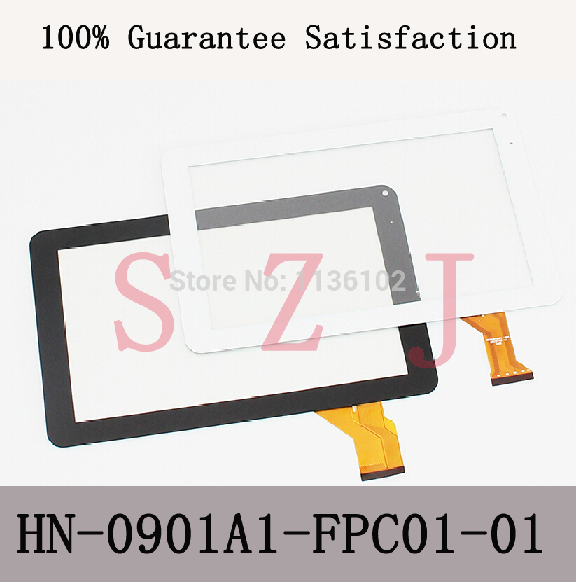 9'' Inch Capacitive Touch Screen Handwritten Panel Dh-0901a1-fpc02-02 Hn-0901a1-fpc01-01 Free Shipping