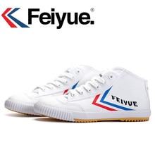 bf5f3022 Оригинальный Feiyue кроссовки Knight классические туфли боевых искусств  тайчи тхэквондо ушу Кунг Фу мягкие удобные спортивная
